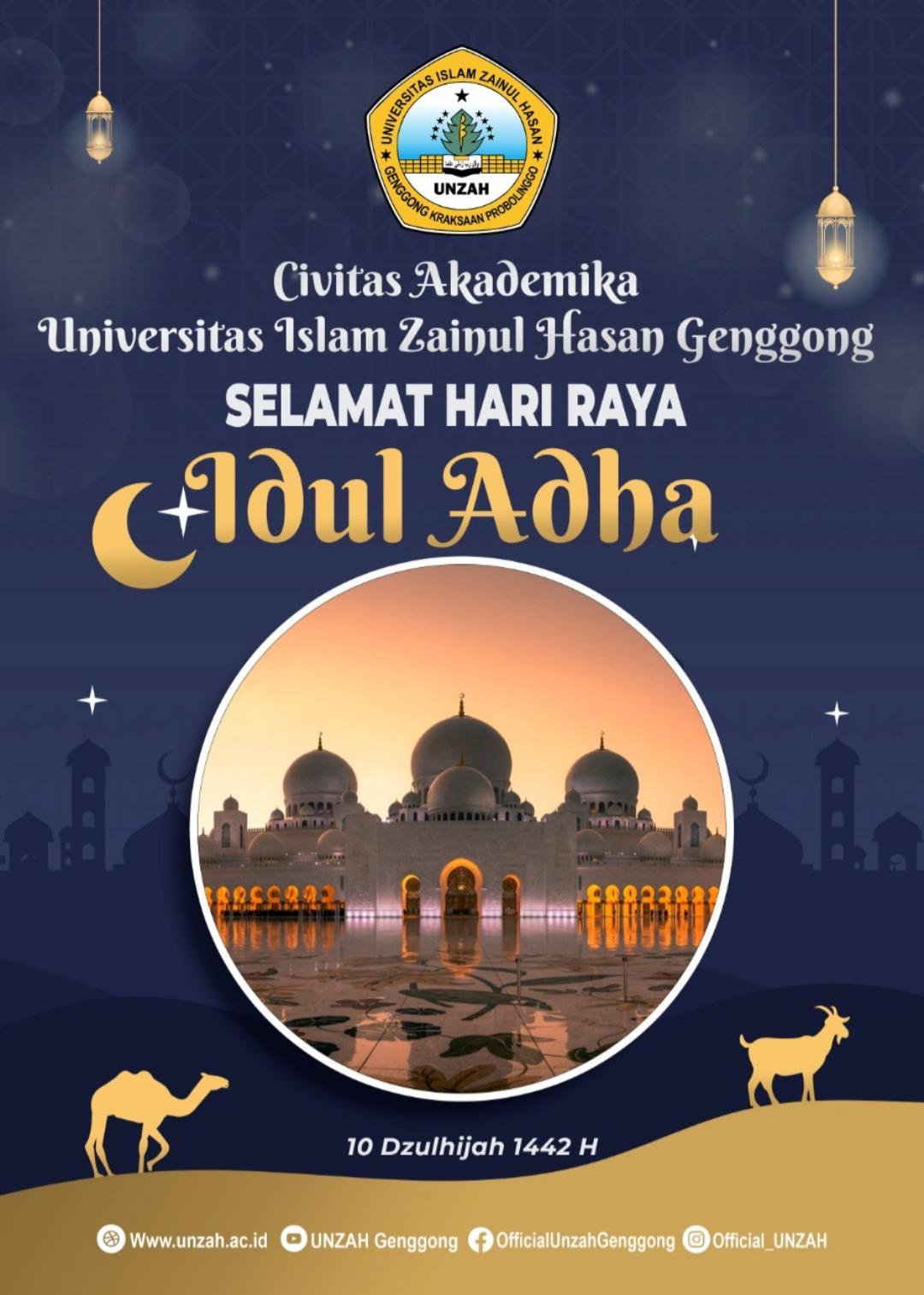 Rektor Unzah: Idul Adha, Momen untuk Berbagi