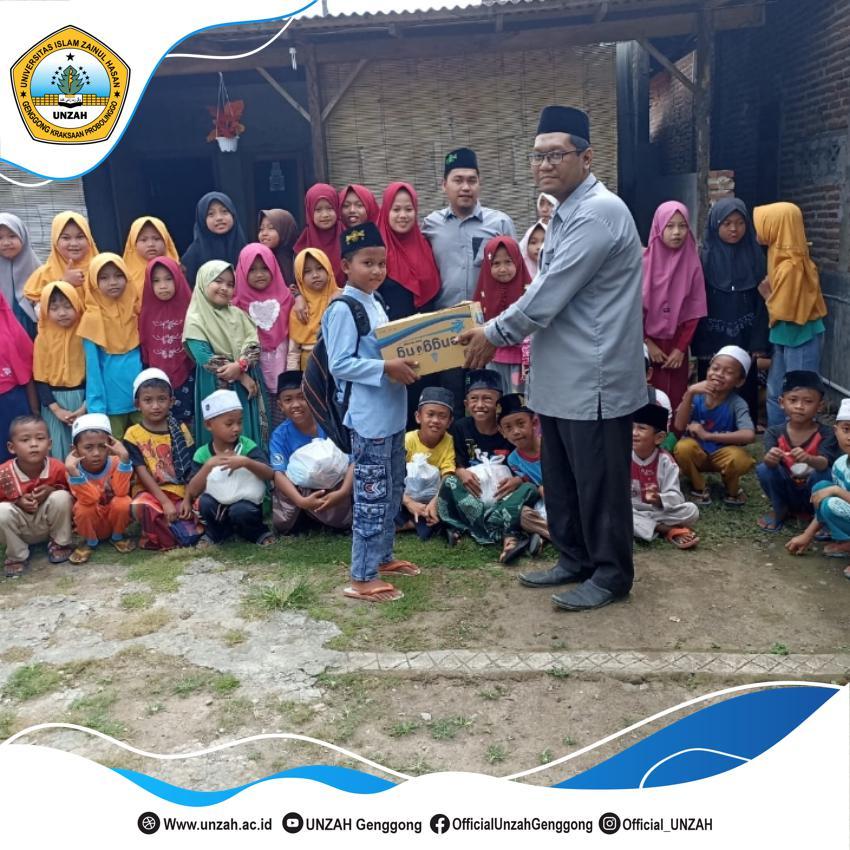 Ketua PK2MB Salurkan Bantuan Kepada Puluhan Anak Yatim.